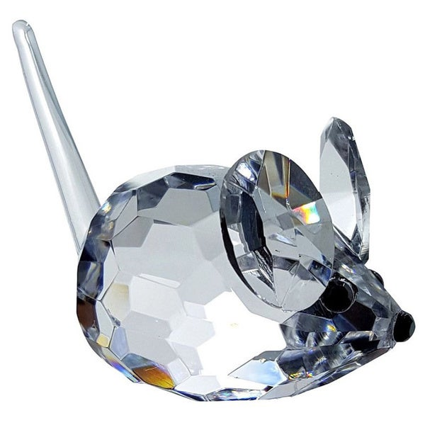 Crystal Florida Crystal Mouse Figurine