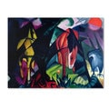 Franz Marc 'Horse and Eagle 1912' Canvas Art