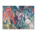 Franz Marc 'In the Rain 1912' Canvas Art