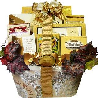 Old World Charm Gourmet Food/ Snacks Gift Basket