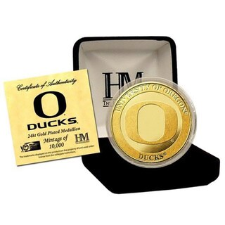 University of Oregon 24-karat Gold Coin