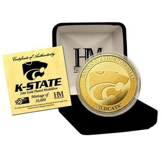 Kansas State University 24-karat Gold Coin