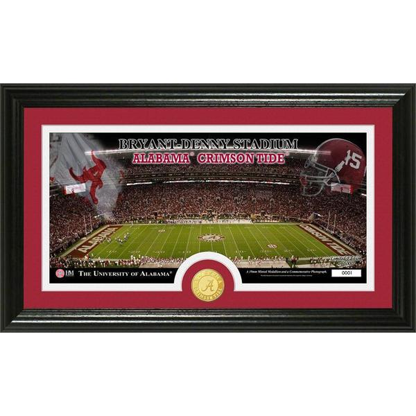 University of Alabama 'Stadium' Bronze Coin Panoramic Photo Mint