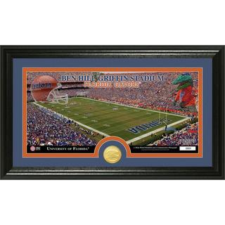 University of Florida 'Stadium' Bronze Coin Panoramic Photo Mint