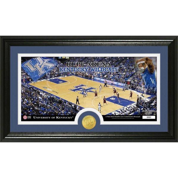 University of Kentucky Court Bronze Coin Panoramic Photo Mint