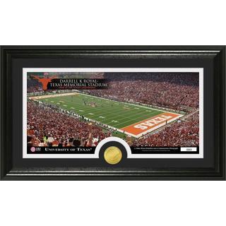 University of Texas 'Stadium' Bronze Coin Panoramic Photo Mint