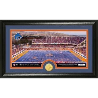 Boise State University 'Stadium' Bronze Coin Panoramic Photo Mint