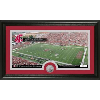 Washington State University 'Stadium' Minted Coin Panoramic Photo Mint