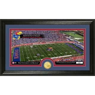 University of Kansas 'Stadium' Bronze Coin Panoramic Photo Mint