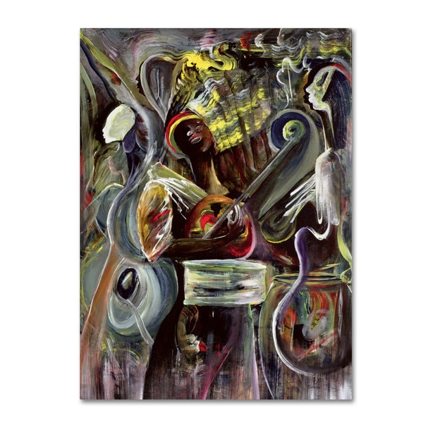 Ikahl Beckford 'Pearl Jam' Canvas Art
