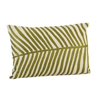 Palm Design Throw Pillow