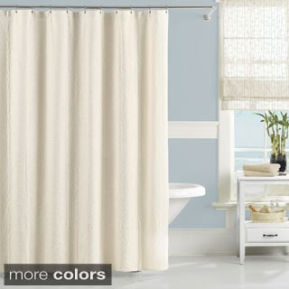 Luxury Matelasse Nepal Bamboo Shower Curtain