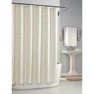 Versaille Pearl Jacquard Shower Curtain