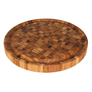 Totally Bamboo Round Butcher Block