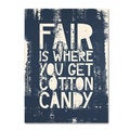 Megan Romo 'Fair V' Canvas Art