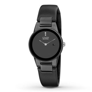 Citizen Women's 'Axiom' Black Stainless Steel Watch