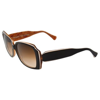 Lafont Women's 'Hacienda' Brown Sunglasses