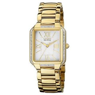 Citizen Women's 'Ciena' Diamond Stainless Steel Watch
