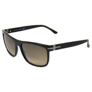 Gucci Men's Black-Brown Sunglasses