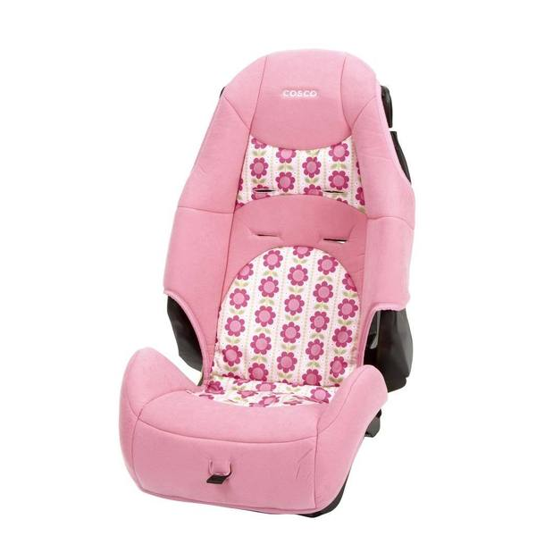 Cosco High Back Booster Car Seat in Abby Lane