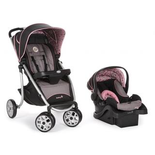 Safety 1st SleekRide LX Travel System in Eiffel Rose