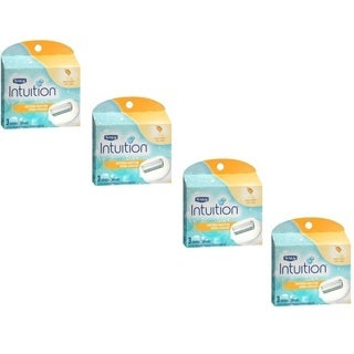 Schick Intuition Soothing Moisture 3-count Cartridges (Pack of 4)