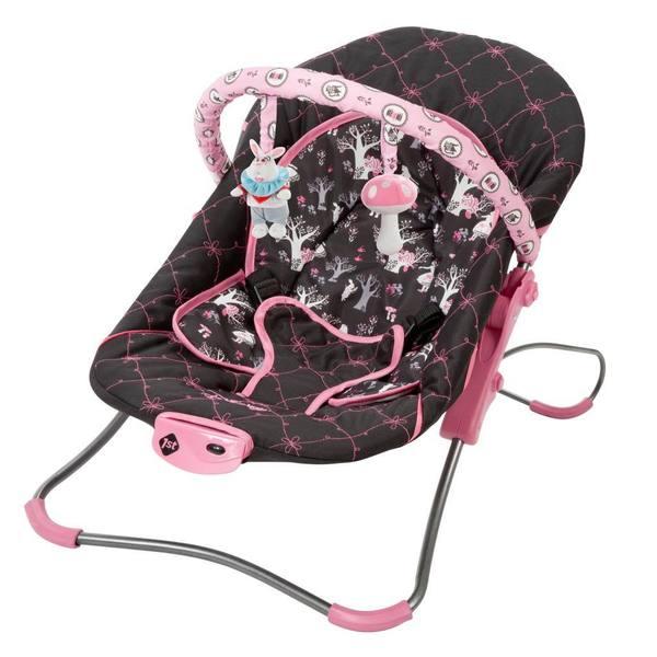 Disney Snug Fit Folding Infant Seat in Alice In Wonderland