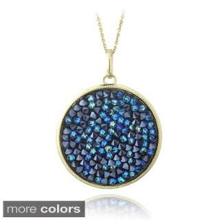 Crystal Ice Goldtone Crystal Necklace