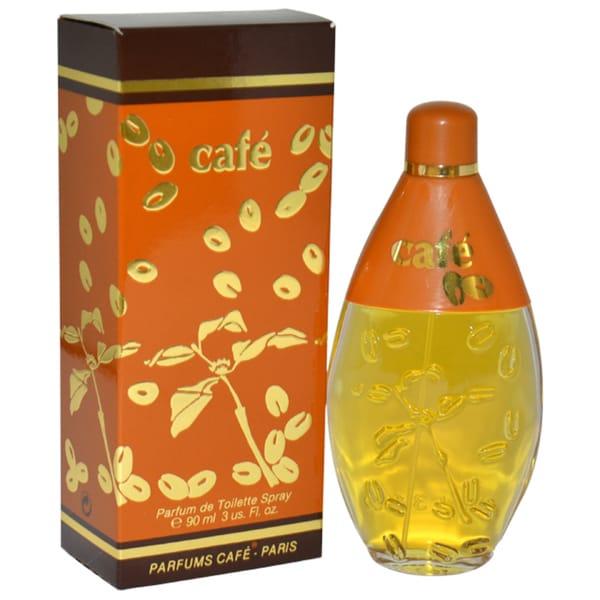 Cafe Women's 3-ounce Eau de Toilette Spray