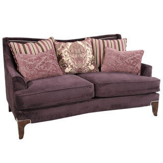 Midtown Purple Loveseat