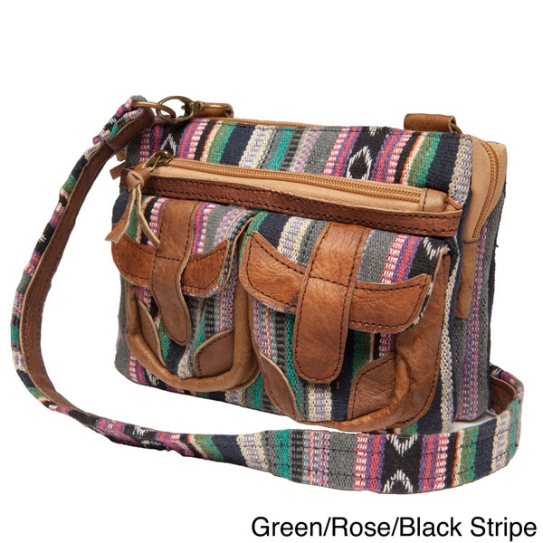 Annapurna Crossbody Yak Leather Bag (Nepal)