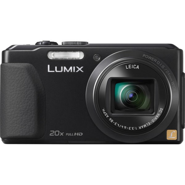 Panasonic Lumix DMC-ZS30 Wi-Fi 18.1MP Black Digital Camera
