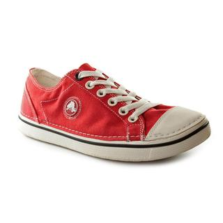 Crocs Women's 'Hover Lace-Up' Red Canvas Casual Shoes