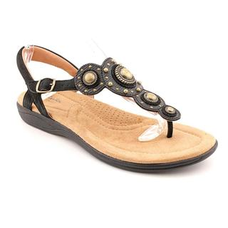 Clarks Artisan Women's 'Poster Signet' Leather Sandals (Size 9.5 )