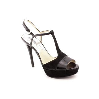 Michael Kors Women's 'Felicia T Strap' Leather Sandals (Size 10 )