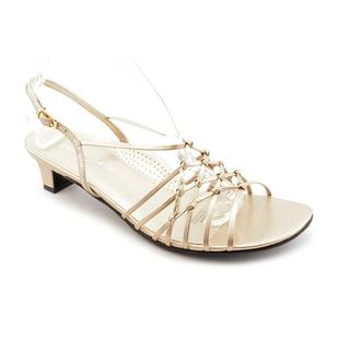David Tate Women's 'Yknot' Leather Sandals - Extra Wide (Size 6 )