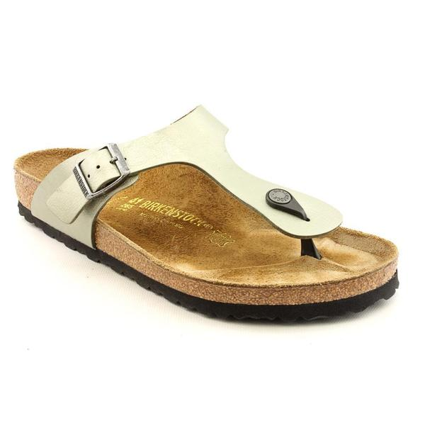 Birkenstock Women's 'Gizeh' Leather Sandals (Size 8 )