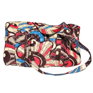 Refurbished Celebration Quilted Duffle Bag (Rwanda)