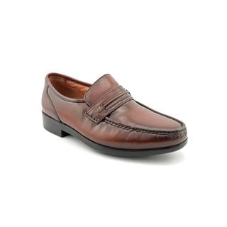 French Shriner Men's 'Nelson' Leather Dress Shoes - Wide (Size 8 )