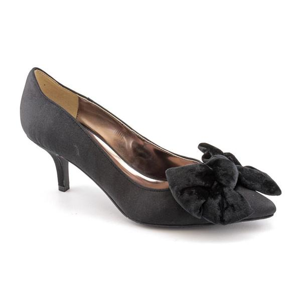J Renee Women's 'Lea' Satin Dress Shoes - Extra Wide (Size 8.5 )