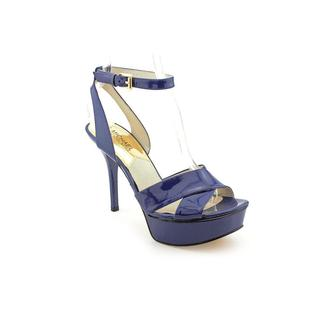 Michael Kors Women's 'Gideon Sandal' Patent Leather Sandals (Size 7.5 )
