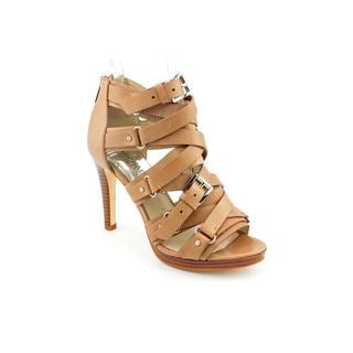 Michael Kors Women's 'Grace Platform' Leather Sandals (Size 5.5 )