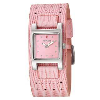 Nixon Women's 'The Lizzie' Stainless Steel Watch with Pink Dial