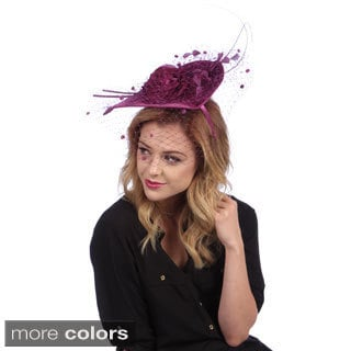Elegant Covered Velvet Fascinator