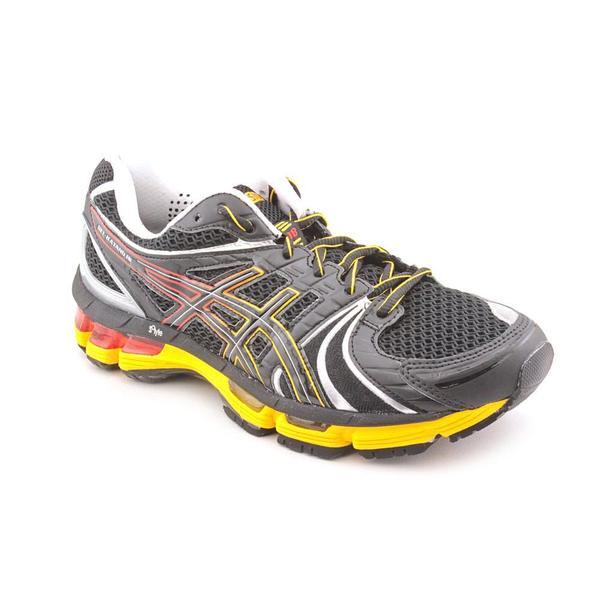 Asics Men's 'Gel Kayano 18' Synthetic Athletic Shoe (Size 7 )