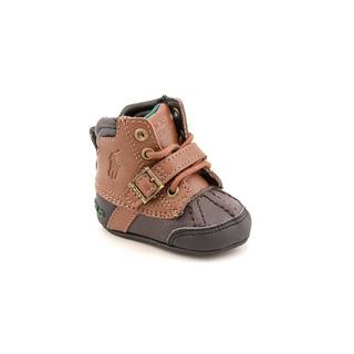 Ralph Lauren Layette Boy (Infant) 'Country Boot' Leather Boots