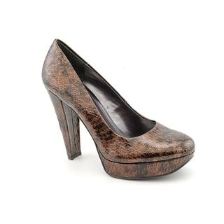 Calvin Klein Women's 'Carley' Animal Print Dress Shoes (Size 10 )
