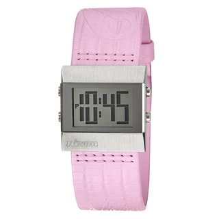 Nixon Women's 'The Compact L' Water-resistant Stainless Steel Digital Watch