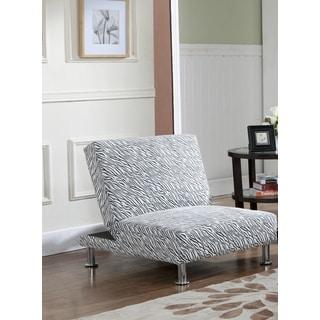 Klik-Klak Zebra Print Two-position Chair