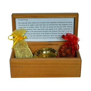 The Gift of Kings - Frankincense, Myrrh & Gold Gift Box